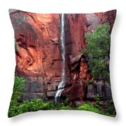 Temple Of Sinawava Throw Pillow