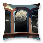 Temple Of The Goddess Throw Pillow