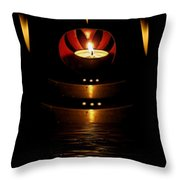 Temple Of The Light Throw Pillow
