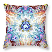 Temple Of The Lion Throw Pillow