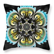 Temple Of The Ram Throw Pillow by Derek Gedney