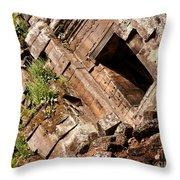 Temple Ruins 03 Throw Pillow