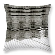 Temple Serenity Throw Pillow