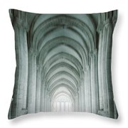 Temple Walker Throw Pillow by Carlos Caetano