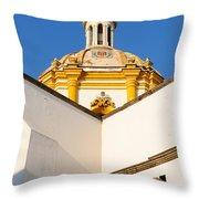 Templo De La Merced Guadalajara Mexico Throw Pillow