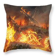 Tempt With Vengeance Throw Pillow