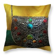 Temptation By Torchlight  Throw Pillow