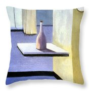 Ten After Nine Throw Pillow by Michelle Calkins