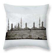 Ten Minarets Throw Pillow