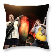 Tenacious D - Kyle Gas And Jack Black Throw Pillow