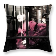 Tended To The Bar Throw Pillow