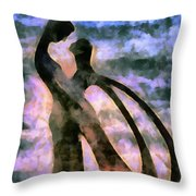 Tender Are The Words They Choose Throw Pillow