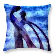 Tender Is The Night Throw Pillow