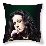 Tender Moments On Stage Throw Pillow