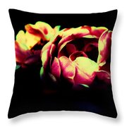 Tender Pink Throw Pillow