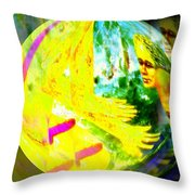 Tenderness And Desire Connect Throw Pillow