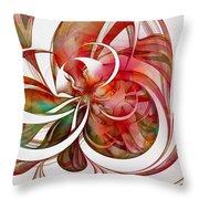 Tendrils 05 Throw Pillow by Amanda Moore