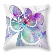 Tendrils 10 Throw Pillow