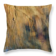 Floating In The Abstract 1 Throw Pillow