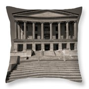 Tennessee Capitol Building Throw Pillow by Dan Sproul