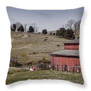 Tennessee Farmstead Throw Pillow