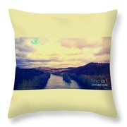 Tennessee Landscape Throw Pillow