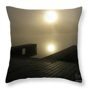 Tennessee River Sunrise Throw Pillow