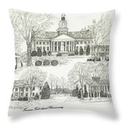 Tennessee Technological University Throw Pillow