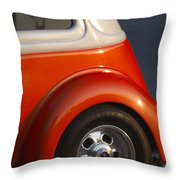 Tennessee Vols Fan Displaying The Colors Proudly Throw Pillow
