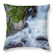 Tennessee Waterfall Throw Pillow