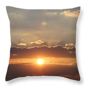 Tennessee's Point Park  Sunset Throw Pillow