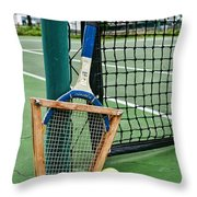 Tennis - Tennis Anyone Throw Pillow