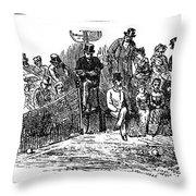Tennis Wimbledon, 1879 Throw Pillow