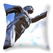 Tenor 3 Throw Pillow