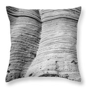 Tent Rocks Wall Throw Pillow