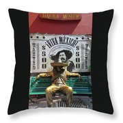 Tequila Museum Throw Pillow