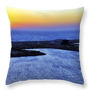 Tequila Sunrise Throw Pillow by Jason Politte