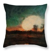 Tequila Sunrise Photo Art 03 Throw Pillow