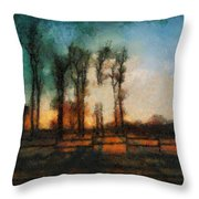 Tequila Sunrise Photo Art 05 Throw Pillow