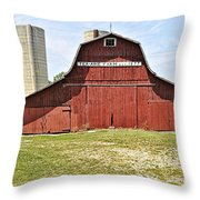 Ter-aine Farm Throw Pillow