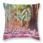 Terania Creek Throw Pillow