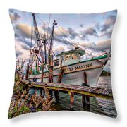 Teri Malynn On The Bon Secour Throw Pillow