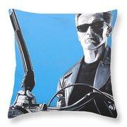 Terminator I'll Be Back Throw Pillow
