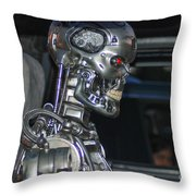 Terminator Throw Pillow