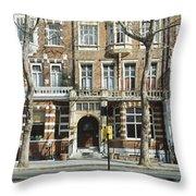Terraced Houses In Kensington Throw Pillow
