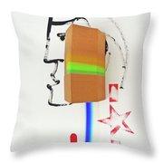 Terracotta Army Poster Throw Pillow