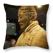Terracotta Soldiers Throw Pillow