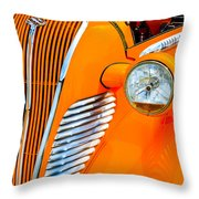 Terraplane Grille Throw Pillow