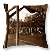 Terry Store 1891 Throw Pillow