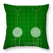 Tesla Electric Transmission Patent 1900 - Green Throw Pillow